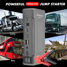 Car-Battery-Booster Jump-Starter Can Truck 24V And Forklift/crane-Truck