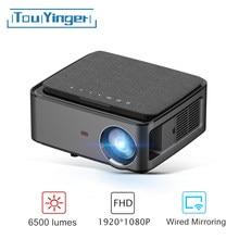 Touyinger RD828 6500 lümen 1920*1080P çözünürlük Full HD projektör WIFI çoklu ekran projektör ev sinema için sinema