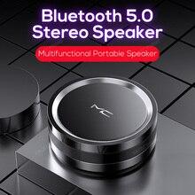 Altavoz inalámbrico con Bluetooth 5,0, estéreo de graves portátil, multifunción, para deportes al aire libre, reproductor de Mp3, altavoz de música, compatible con tarjeta TF y disco en U