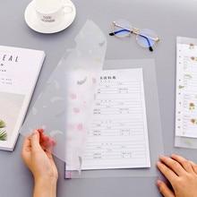 A4 листья бумага для органайзера держатель цветок папка для документов информация папки для отчетов папка-скоросшиватель зеленый офисные школьные принадлежности, блокноты в мешок из пвх