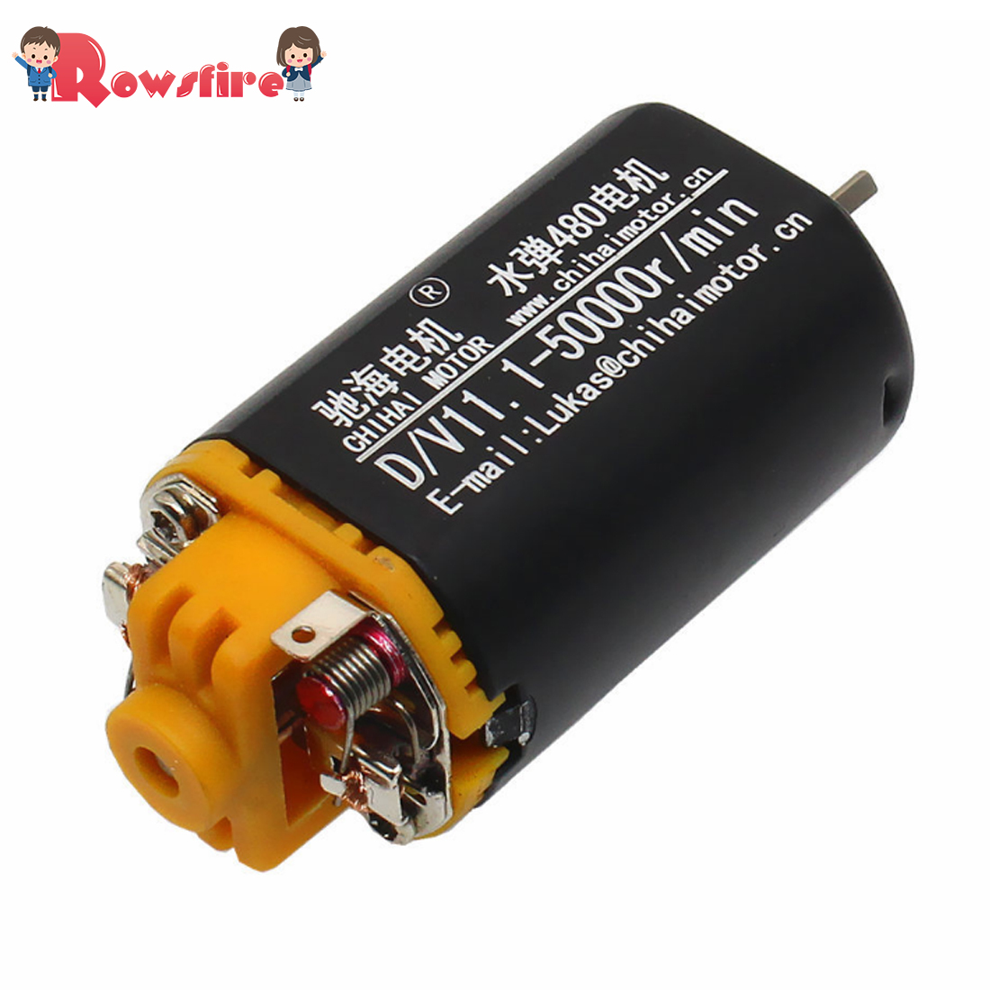 FK480Double Ball Bearing 2.0 Shaft D Hole 11.1v 5000RPM Motor For MKM2 Racing Gearbox Modification With 480 Gearbox