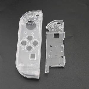 Image 4 - YuXi Clear White Plastic L R Housing Case Cover for Nintend Switch NS NX Joy Con Console Shell Replacement Parts