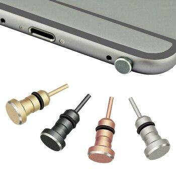 Пылезащитная заглушка для наушников 3,5 мм с интерфейсом AUX-Jack, штырь для извлечения карт памяти для Apple Iphone 5 6 Plus, ПК, ноутбука
