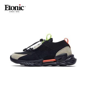 ETONIC  Running Scarpe In Vera Pelle Traspirante Scarpe Sportive Da Uomo 1