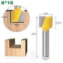 1pcs 8mm Woodwork Milling Cutter Shank Flush Trim Router Bit Pattern Bit Top Bottom Bearing Blade Template Wood Milling Cutter