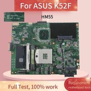 Laptop motherboard Für ASUS K52F PGA 989 Notebook Mainboard REV. 2,0 HM55