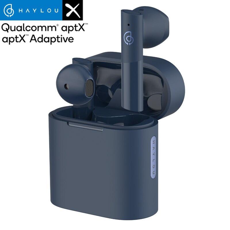 Haylou MoriPods Qualcomm QCC3040 אלחוטי אוזניות Bluetooth V5.2 אוזניות TWS אוזניות aptX אדפטיבית AAC 4 מיקרופוני אוזניות