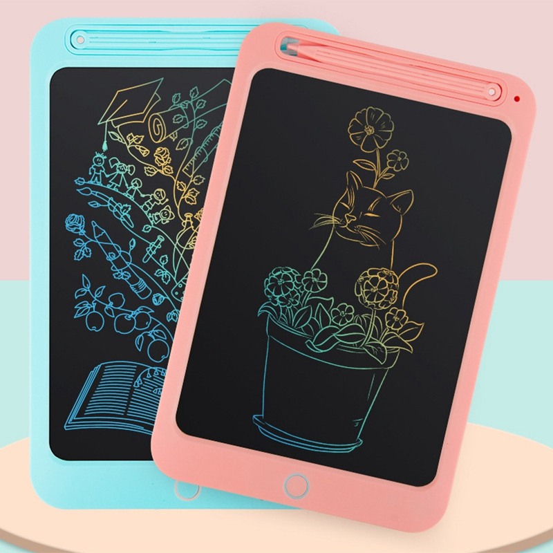 10 Inch Monochrome Version LCD Tablet Digital Drawing Tablet Childrens Hand-Painted Board Portable Electronic Graphics Board wi