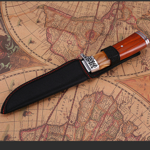 Image 5 - 2019 neue Gerade Messer Jagd Messer Outdoor Camping selbstverteidigung Werkzeuge Tactical Fixed Blade Tasche Überleben Messer