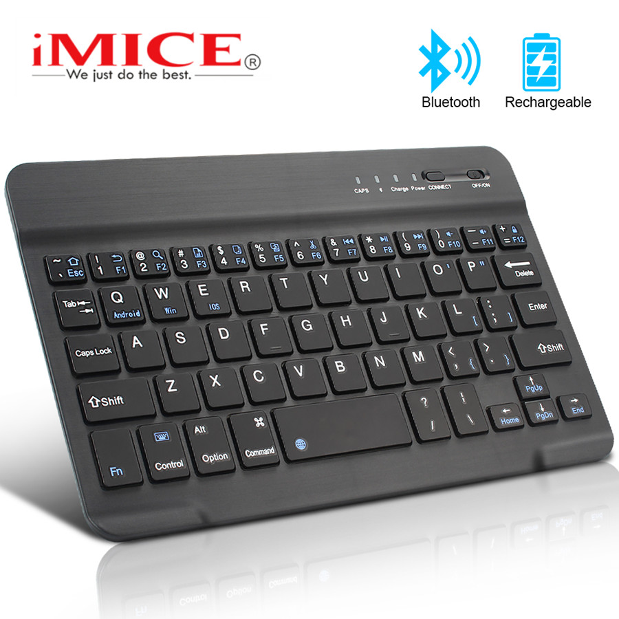 Mini Wireless Keyboard Bluetooth Keyboard Ultra Slim Portable Keyboard Support IOS Android Window System For Tablet Laptop phone image