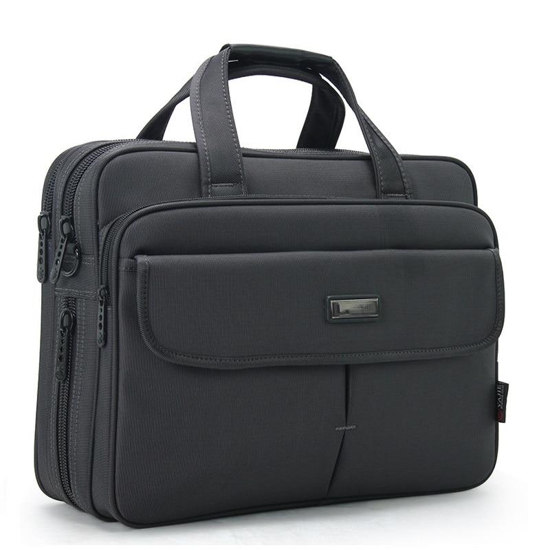 Brand Men 16 Inch Laptop Briefcase Waterproof Oxford Business Handbag For Men Large Capacity Messenger Shoulder Bag