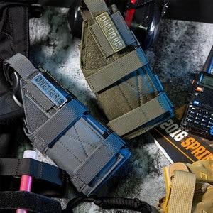 Image 1 - OneTigris Tactical Gun Holster Molle Modular Belt Minimalist Pistol Holster for Glock 17 19 22 23 31 32 34 35