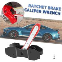 Car Ratchet Brake Piston Caliper Excellent Rubber and Metal Spreader Wrench Tool Repair Kit Car Accessories Install Easily