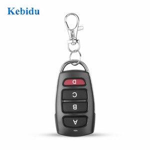 Image 1 - kebidu 433Mhz Auto Remote Control Cloning Gate for Garage Door Remote Control Portable Duplicator Key