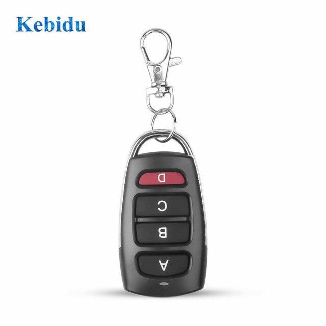 kebidu 433Mhz Auto Remote Control Cloning Gate for Garage Door Remote Control Portable Duplicator Key