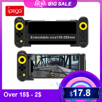 IPega PG-9167 Gamepad for iOS Android Mobile Phone PC Tablet for PUBG Games bluttoth Wireless Joystick console Game Controller ipega pg 9087 bluetooth android gamepad wireless gamepad pc joypad game controller joystick for pubg mobile gaming