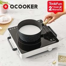 2020 nouveau qcuisinière CR-DT01 électrique Induction cuisinière Smart électrique four cuisine table de cuisson marmite contrôle précis cuisinières plaque de cuisson