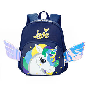 Backpack Toddler Schoolbag Unicorn Comfortable Anti-Lost Baby Children Cute New Safety-Harness