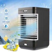 EU Stecker Klimaanlage Tisch Luftkühler Tragbare Befeuchter-reinigungsapparat Fan Kühlung Flow-Filter Anti-staub Frische Luft Fan