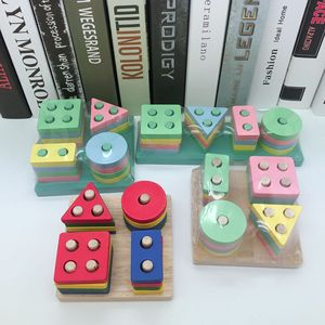 Wooden Montessori Toy Educatio