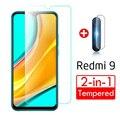 Защитное стекло для камеры Xiaomi Redmi 9, Защитное стекло для экрана на Xiomi Redmi 9 M2004J19AG 6,53