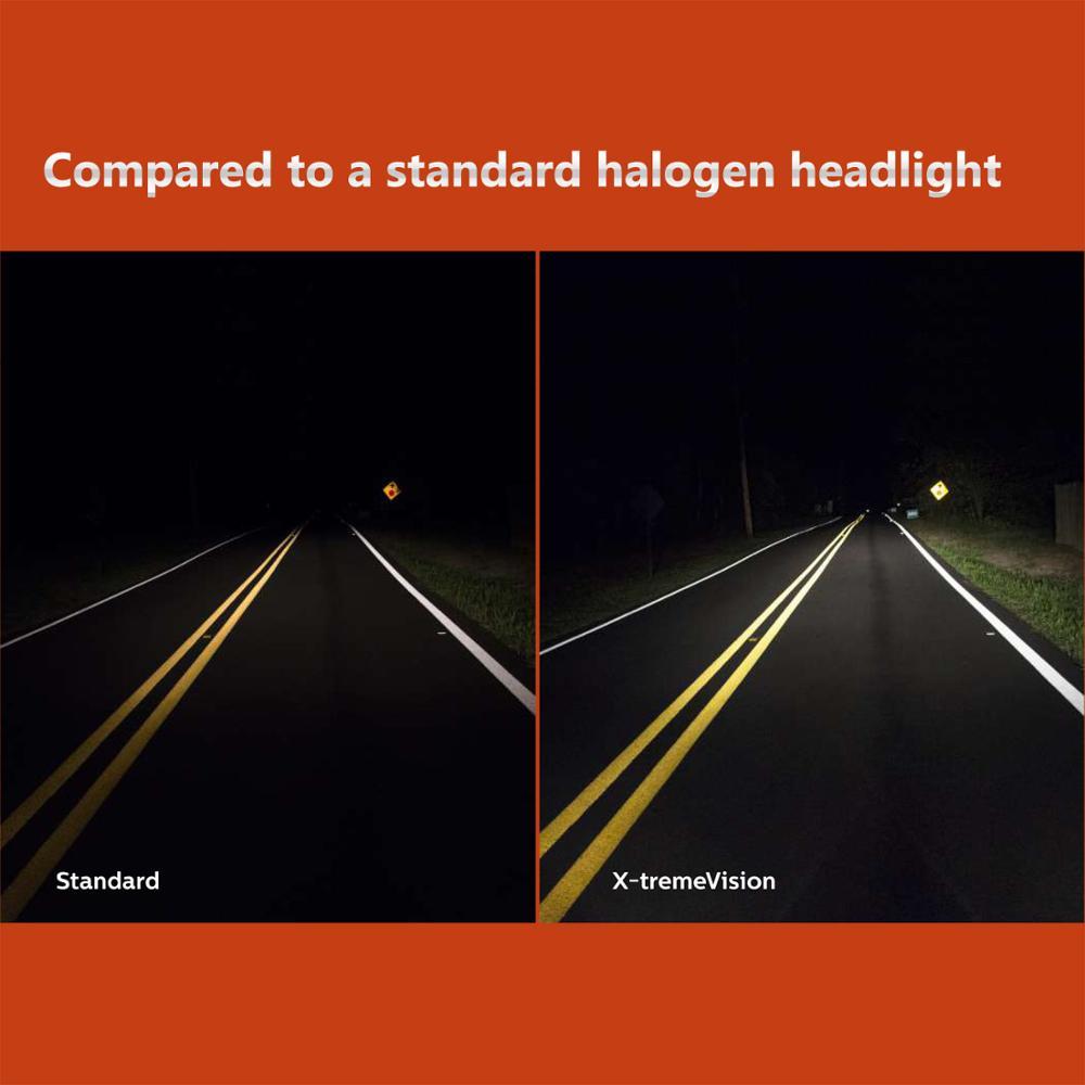 Genuine Philips X-treme Vision 100/% Brighter H7 55W Halogen Bulbs