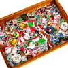 10pcs/30pcs Mixed Christmas Resin Flatback Resin Planar Cabochon for DIY Craft Embellishments Accessories Decoration