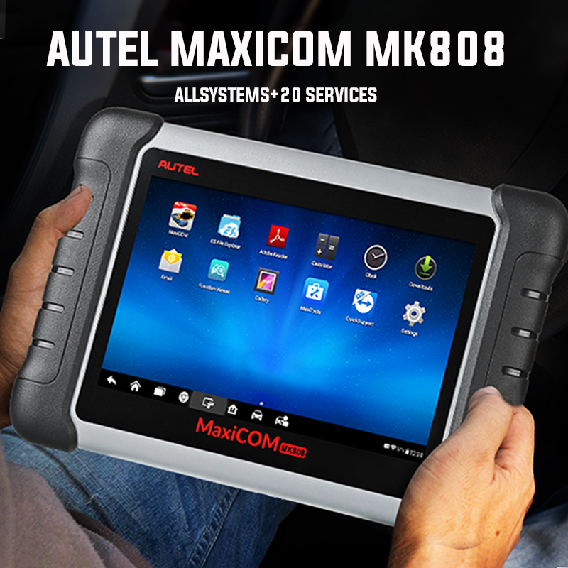 Best Seller Autel MaxiCOM MK808 OBD2 Scanner Automotivo Car Diagnostic Scan Tool OBD 2 Code Reader OBDII Key Coding MP808 DS808|Code Readers & Scan Tools|   - AliExpress