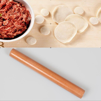 Solid Wood 4 Size Cooking Tools Fondant Cake Decoration Rollers Portable Rolling Pin Dough Roller Kitchen Accessories 1pc 2size kitchen wooden rolling pin kitchen cooking bake tools accessories crafts bake fondant cake decoration dough roller
