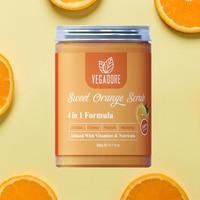 300ml Sweet Orange Body Scrub Cream for Scrubber Exfoliating Scrub to Stay Body Wash Cleansing Whitening Cream & Shrink Pores. 6