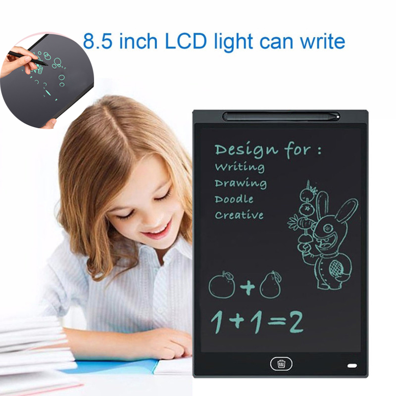 BalleenShiny 8.5inch LCD Kids Painting Drawing Tablets Toys Magic Handwriting Pad Early Educational Children Writing Board Gift