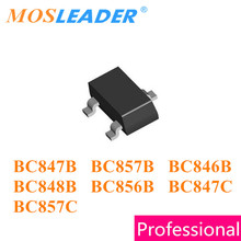 Mosleader SOT23 3000 個 BC847B 1F BC848B 1 18k BC857B 3F BC846B 1B BC856B 3B BC847C 1 グラム BC857C 3 グラム BC847 BC857 BC846 BC856 中国