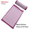 Purple Mat pillow