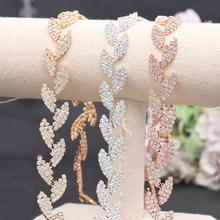 Alloy Leaf Belt 3 Color Bridal Belts for Women Wedding Sash Rhinestone Belt Dress Accessories Waist Wedding Sash Bridesmaid Belt