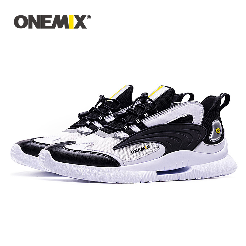 ONEMIX  Men Sneakers Breathable Mesh Outdoor Sport Shoes  Ancient Ways Dad Shoes Leisure Time Motion Comfortable Jogging Shoes