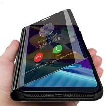 samung m 11 case smart mirror flip case for samsung m11 2020
