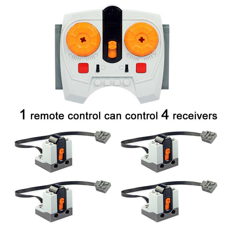 Technic teile Kompatibel Alle Marken multi power funktionen werkzeug servo blöcke zug motor xl motor PF modell sets 88002