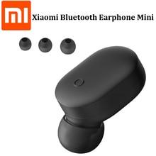 מקורי Xiaomi Mi אלחוטי Bluetooth אוזניות מיני אחת אוזניות Bluetooth 4.1 IPX4 עמיד למים Build in מיקרופון Handfree אוזניות