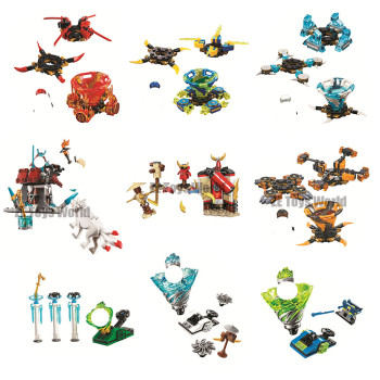 Ninjagoed Spinjitzu Slam Zane Jay Lloyd Cole Kai Building Blocks Kit Bricks Classic Movie Ninja Model Kid Toys For Children Gift 1