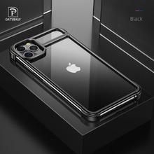 חדש מתכת מסגרת טלפון מקרה עבור Iphone11 11pro משיכה מגנטית חשוף מכונת מרגיש Drop הוכחה טלפון כיסוי עבור Iphone11 פרו מקסימום