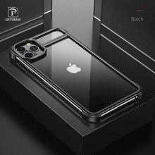 Nouveau étui pour téléphone cadre en métal pour Iphone11 11pro Attraction magnétique Machine nue sensation couverture de téléphone anti chute pour Iphone11 pro max