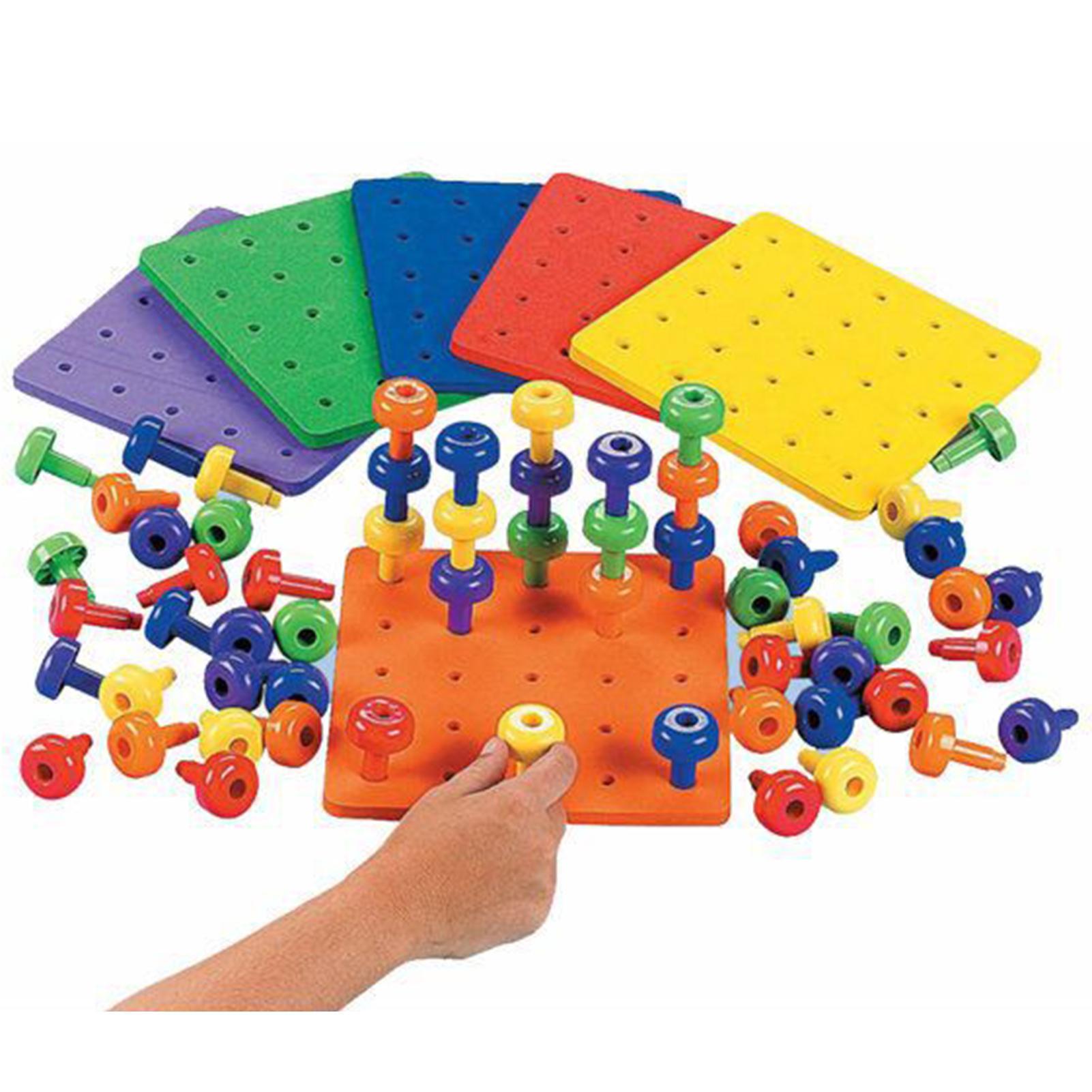 Креативные Детские игрушки Монтессори 2020, Детский пазл, доска для прищепок, грибы, ногти для детей, развивающие игрушки, подарки