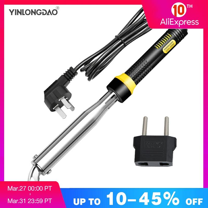 Industrial Grade Electric Soldering Iron 200-240V 60W 80W 100W 300W Welding Solder Rework Station Heat Pencil Tips Repair Tool