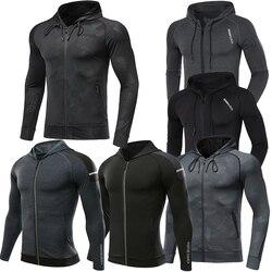 Mannen Merk Hoodies Gym Sport Running Training Fitness Bodybuilding Sweatshirt Outdoor Sportkleding Mannelijke Capuchon Truien Mma