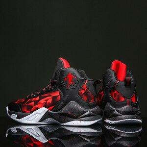 Уличные баскетбольные кроссовки, дышащая обувь для тенниса, высокие кроссовки унисекс с воздушной подушкой, Спортивная фитнес-обувь