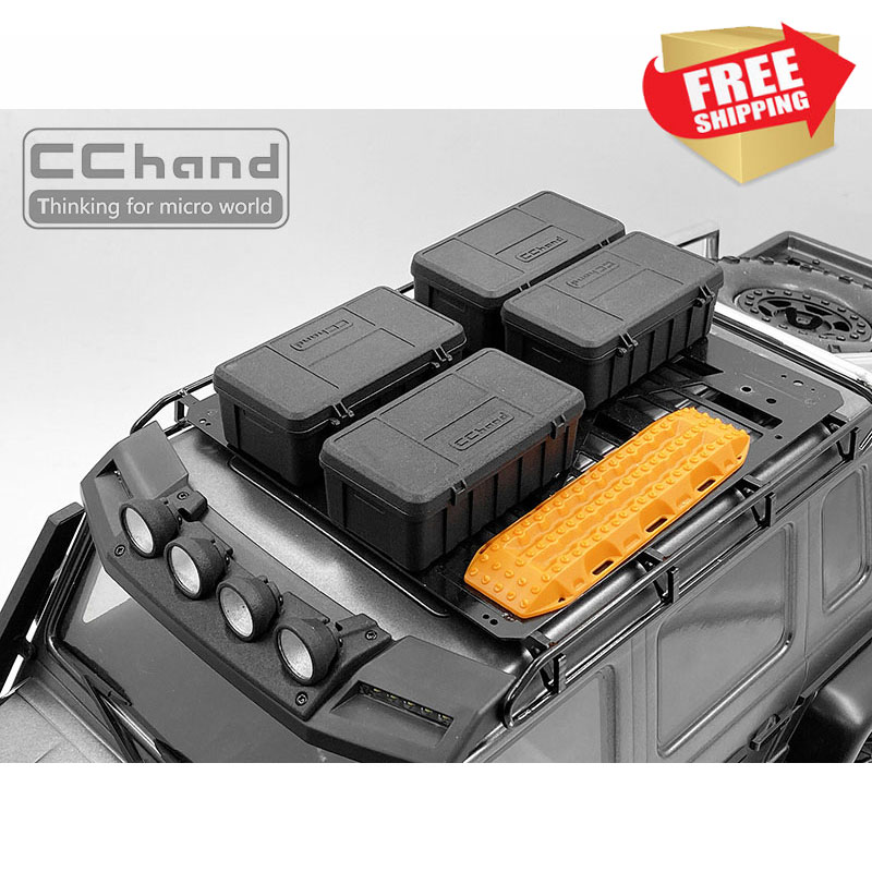 1/10 simulation rc crawler trx4 trx6 G500 defender G63 traxxas wild storage box off road decoration option parts|Parts & Accessories| |  - title=