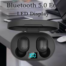 E6S TWS Bluetooth 5.0 Earphones For Xiaomi Airdots Wireless Earbuds Headset Noise Cancelling Mic for Redmi iPhone Huawei Samsung(China)