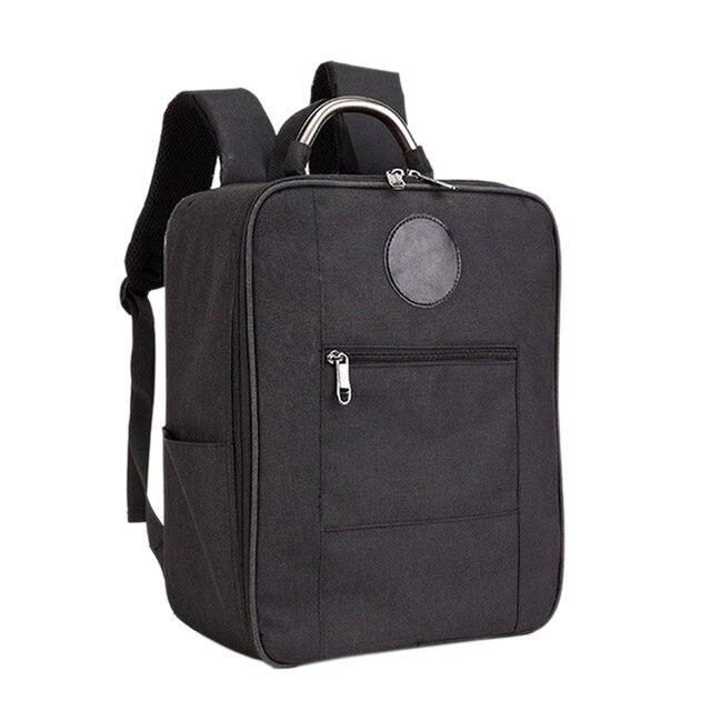 المضادة للصدمات حقيبة حمل حقيبة ل Mjx البق 5 واط B5W كوادكوبتر الطائرة بدون طيار حقيبة التخزين على ظهره (أسود)