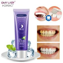 80G Bamboo Mint Flavor Toothpaste For Night Cleaning Teeth Whitening Natural Cream