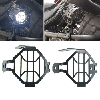 Motorcycle Parts Fog Light Protector Guards Metal Foglight Lamp Cover For BMW R1200GS R1200GSA F800GS Adventure r 1200gs f 800gs image